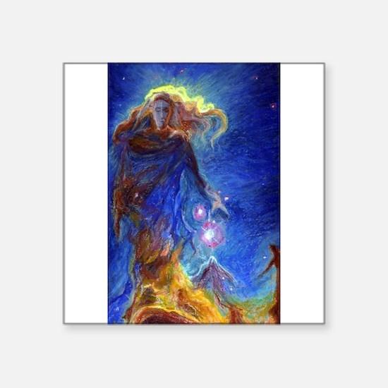Lady Nebula Sticker