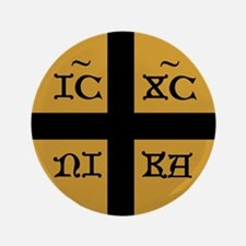 "ICXC Jesus Christ 3.5"" Button (100 pack)"