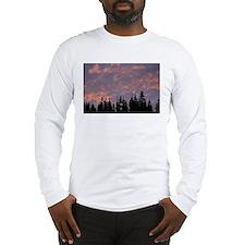 p0147. fur, oregon  Long Sleeve T-Shirt