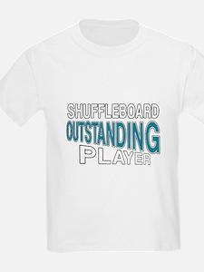 Shuffleboard Outstanding Player T-Shirt