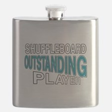 Shuffleboard Outstanding Player Flask