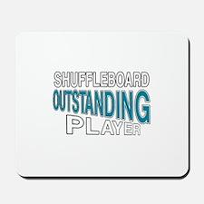 Shuffleboard Outstanding Player Mousepad
