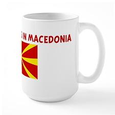 HALF MY HEART IS IN MACEDONIA Mug