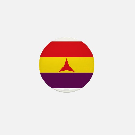 Flag of the International Brigades, Sp Mini Button