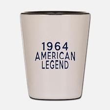 1964 American Legend Birthday Designs Shot Glass