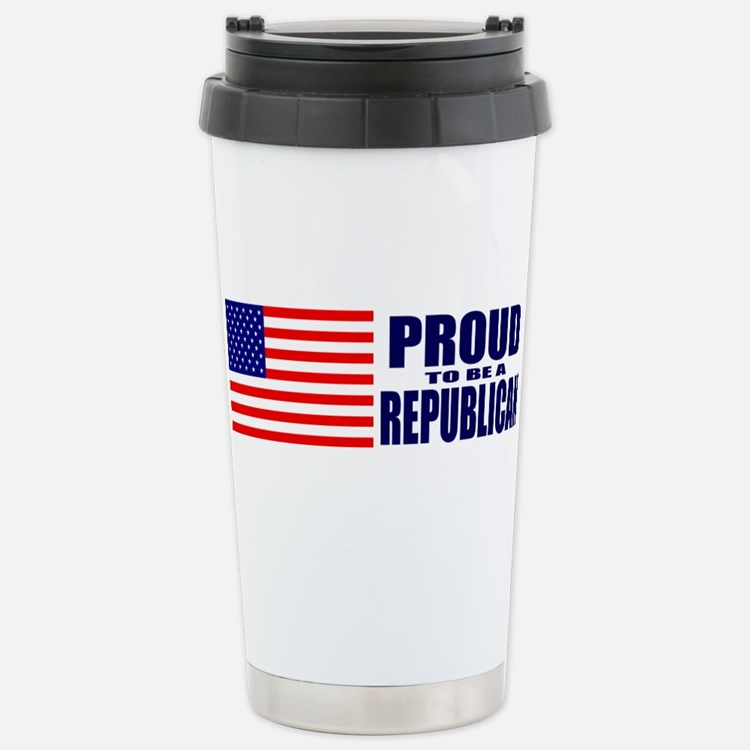 Cute Proud to be a republican Travel Mug