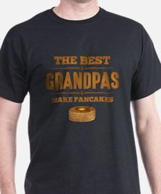 Best Grandpas Make Pancakes T-Shirt