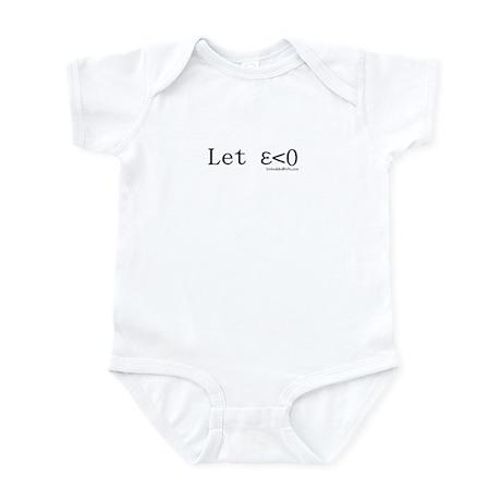 Let Epsilon Be Less Than Zero Infant Bodysuit
