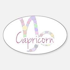 Capricorn (Zodiac symbol: Mountain sea-goa Decal