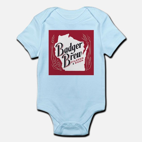 Badger Brew Beer Label Body Suit