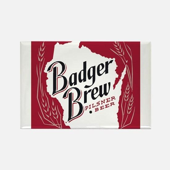 Badger Brew Beer Label Magnets