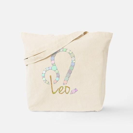 Leo (Zodiac symbol: Lion) (Candies) Tote Bag