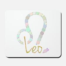 Leo (Zodiac symbol: Lion) (Candies) Mousepad