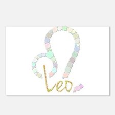 Leo (Zodiac symbol: Lion) Postcards (Package of 8)