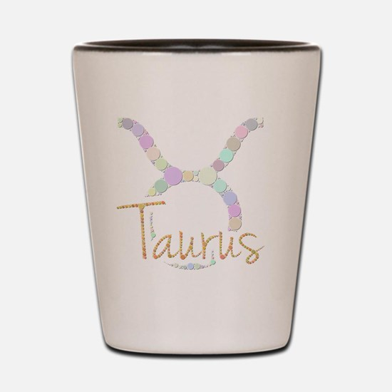 Taurus (Zodiac symbol: Bull) (Candies) Shot Glass
