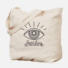 Saint Lucy Pray for Us Tote Bag