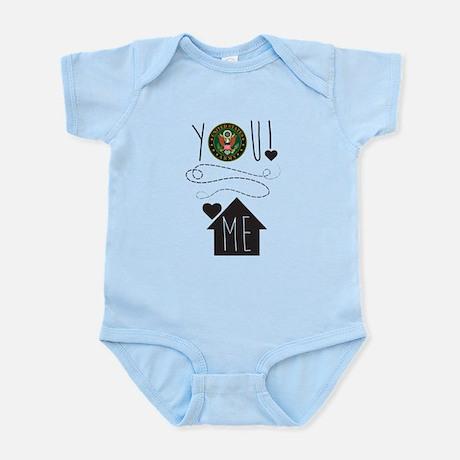 Army You Love Me Infant Bodysuit Infant Bodysuit