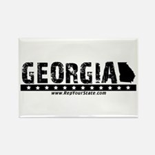 Georgia Rectangle Magnet