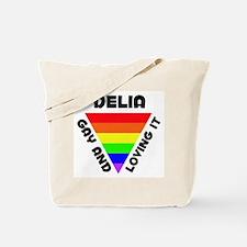 Delia Gay Pride (#006) Tote Bag