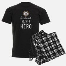 Navy Husband Father Hero Pajamas