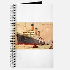 Majestic steamship historic postcard Journal