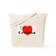I Love Georgia! Tote Bag
