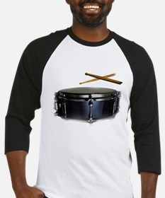 snare and sticks Baseball Jersey