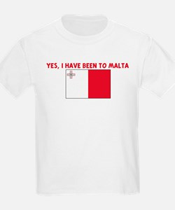 YES I HAVE BEEN TO MALTA T-Shirt