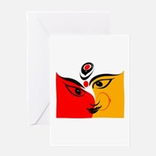 DURGA Greeting Cards