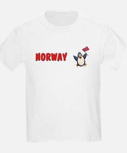 Norway Penguin T-Shirt