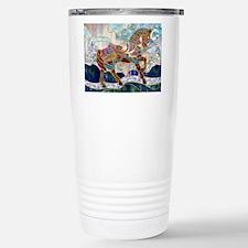 Cute Carosel Travel Mug