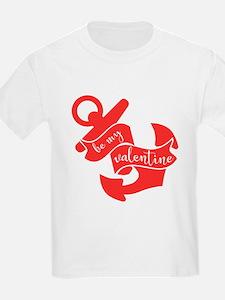 Navy Be My Valentine T-Shirt