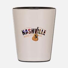 Nashville Music City USA Shot Glass