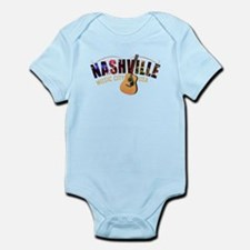Nashville Music City USA Body Suit