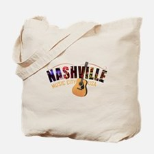 Nashville TN Music City USA Tote Bag