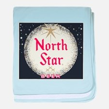 North Star Beer Logo 2 baby blanket