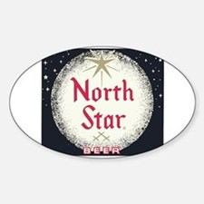 North Star Beer Logo 2 Decal