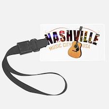 Nashville TN Music City USA Luggage Tag