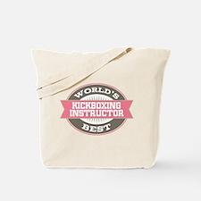 kickboxing instructor Tote Bag