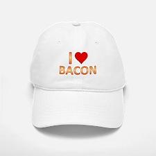 I Heart Bacon Baseball Baseball Cap