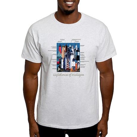 Lighthouses of Michigan T-Shirt