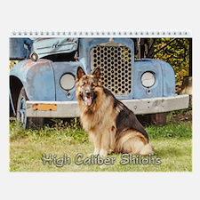 2017 High Caliber Wall Calendar