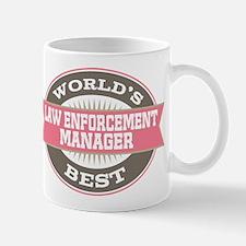 law enforcement manager Mug