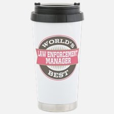 law enforcement manager Stainless Steel Travel Mug