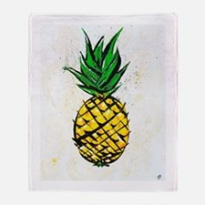 Pineapple Party Throw Blanket