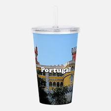 Portugal: Pena Palace, Acrylic Double-wall Tumbler