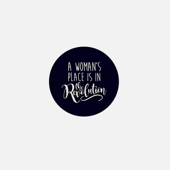 Womans Place in Revolution Mini Button