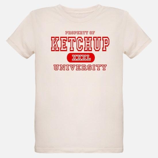 Ketchup University Catsup Ash Grey T-Shirt