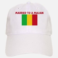 MARRIED TO A MALIAN Baseball Baseball Cap