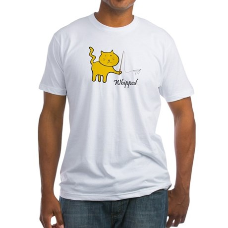 Pussy Whipped Fitted T-Shirt